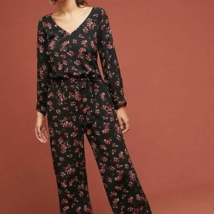 NEW ANTHROPOLOGIE FREDDY FLORAL JUMPSUIT FROM VELV